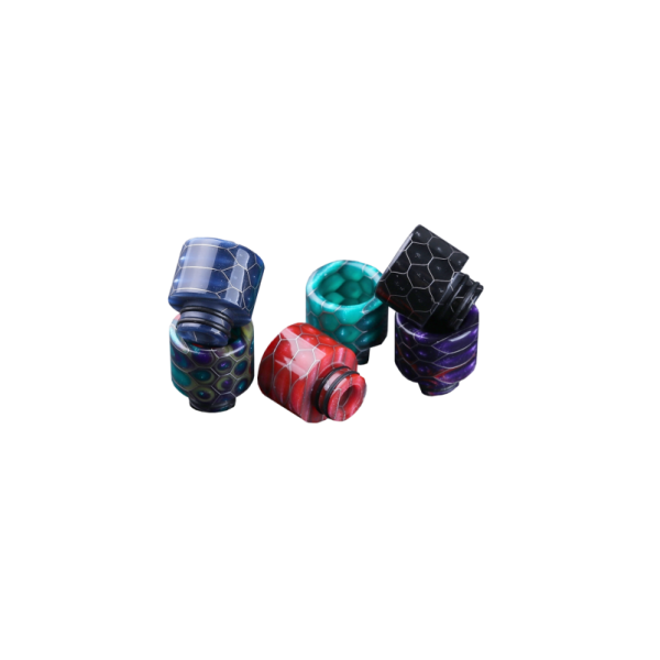 Epoxy Resin Snake Pattern 510 Drip Tip